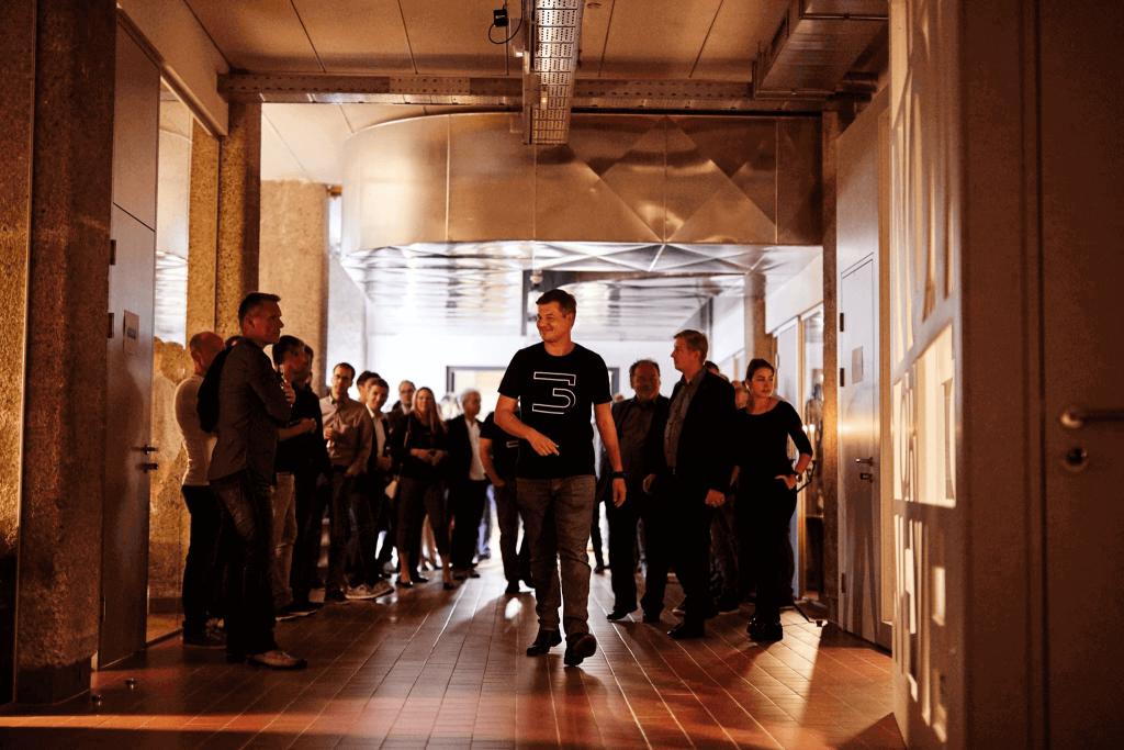christian forsterhofer in der strada del startup